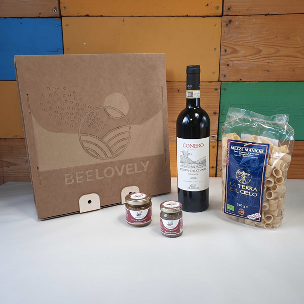 food box a domicilio con funghi e tartufi